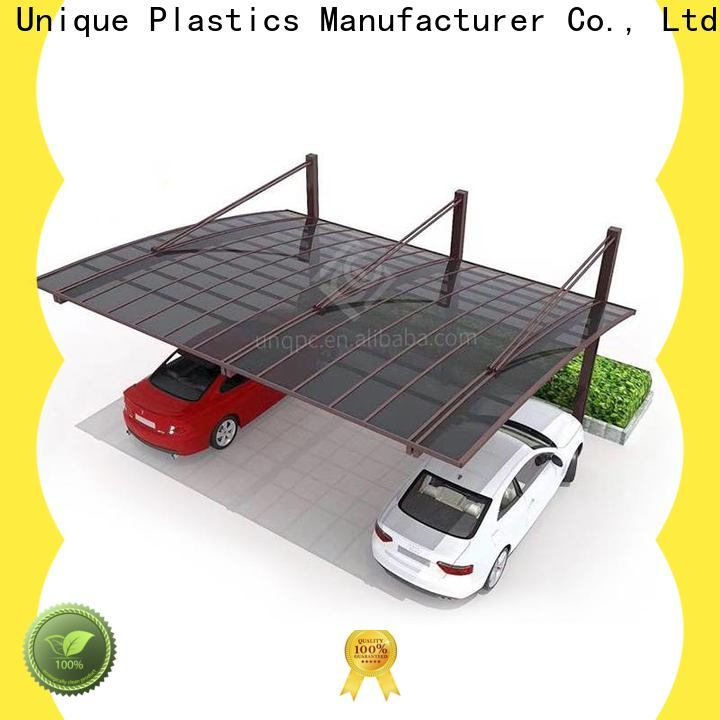UNQ Wholesale greenhouse roofing sheets for business for private garden