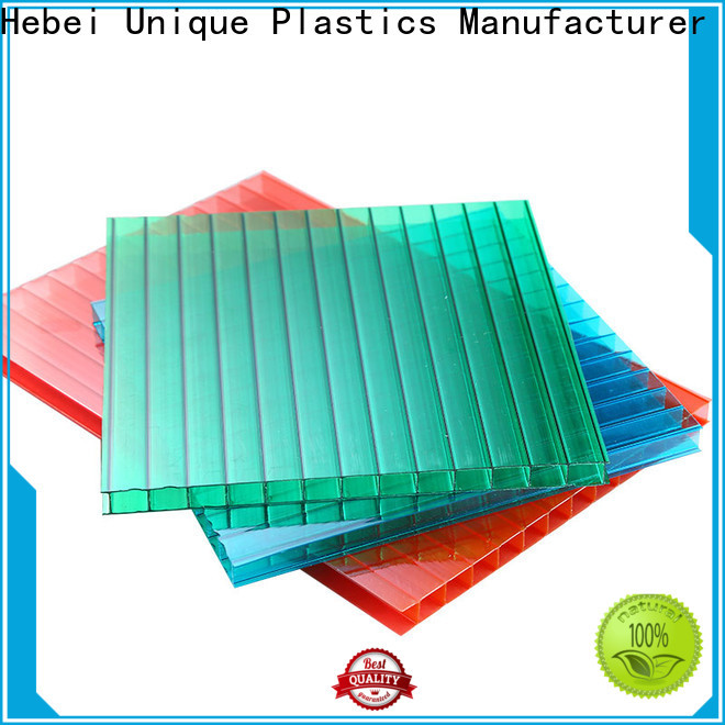 UNQ flexible polycarbonate factory for architectural lighting roof