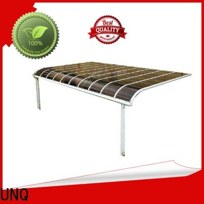 UNQ Latest smoked polycarbonate sheet factory for private garden