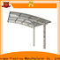 New metal patio roof panels manufacturers for private garden