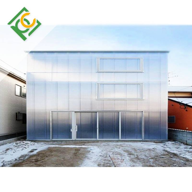 Double-sided UV Protection Polycarbonate Self cleaning sheets Anti-Drip sheets