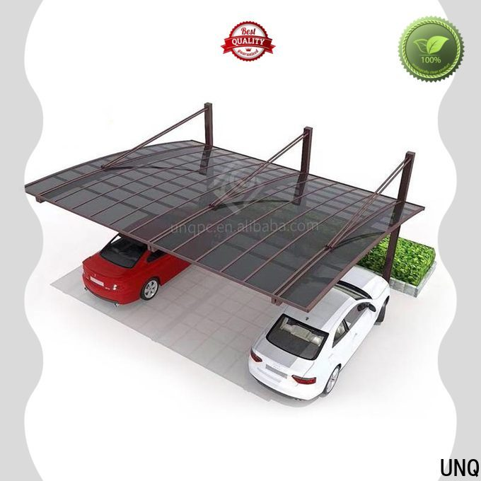 UNQ cutting polycarbonate Suppliers for private garden