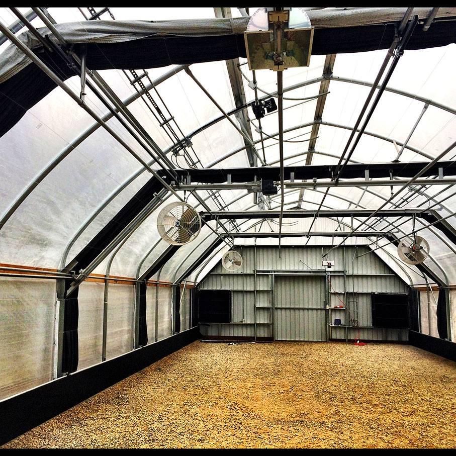 Custom Light Deprivation Greenhouse Blackout Greenhouse for sale