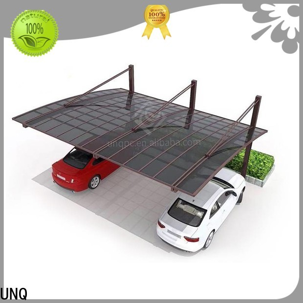 Custom 4mm polycarbonate sheet company for car park