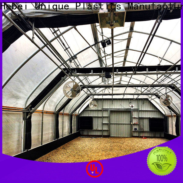 UNQ Latest using polycarbonate for greenhouse Supply for flower planting
