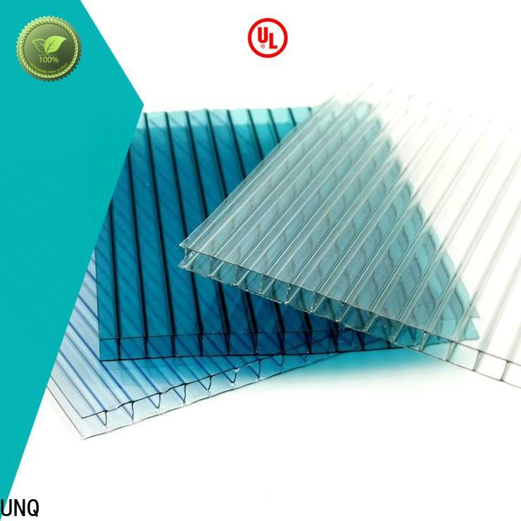 UNQ multicell polycarbonate sheet for business for architectural lighting roof