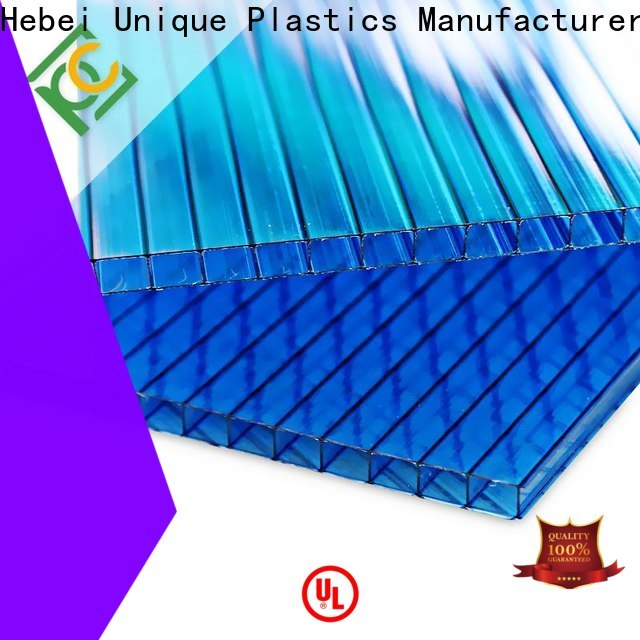 Custom polygal sheets for sale Suppliers for railway station and aviation overpass