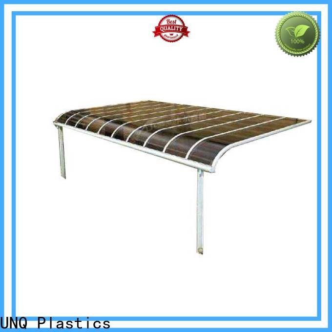 UNQ shop window canopy company for villas