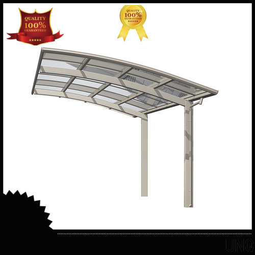 UNQ High-quality green steel roof panels for business for car park