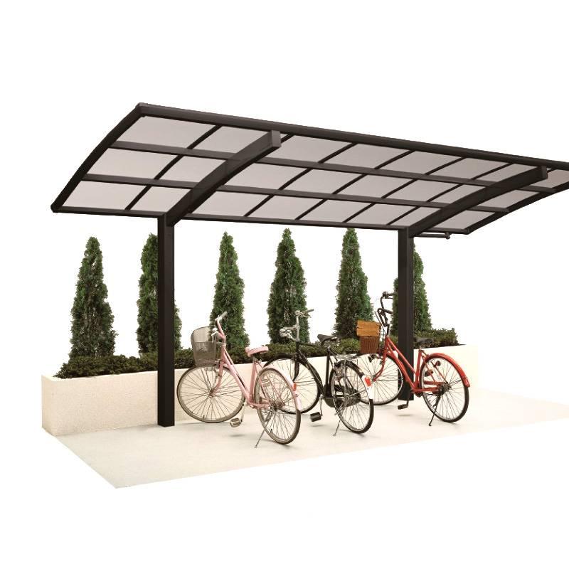 Polycarbonate Sheet Aluminum Frame Carport