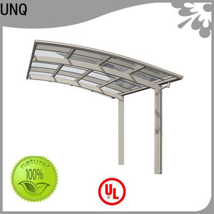 UNQ High-quality carport installation factory for car park
