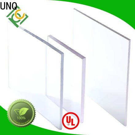 UNQ Latest lexan polycarbonate sheets canada manufacturers for air transparent container