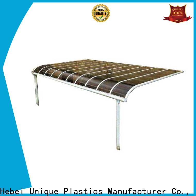 UNQ polycarbonate sheet extrusion Suppliers for villas