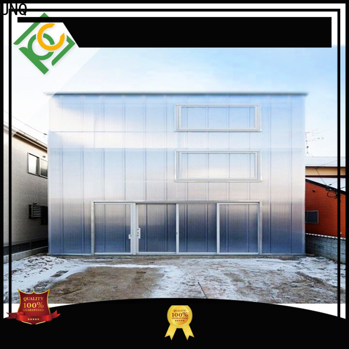 UNQ polycarbonate cladding Suppliers for food drying and ventilation building