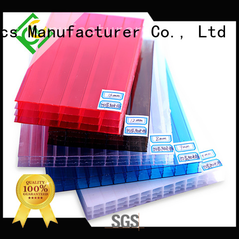 UNQ New twin wall polycarbonate sheets canada for business for railway station and aviation overpass