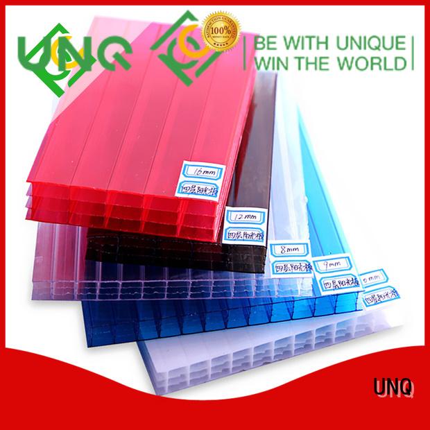 UNQ Top plexi acrylic factory for building interior decoration