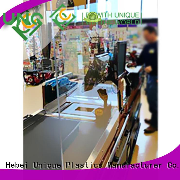 UNQ Wholesale wholesale polycarbonate sheets for business for air transparent container