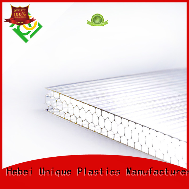 Custom discount polycarbonate sheet factory for architectural lighting roof