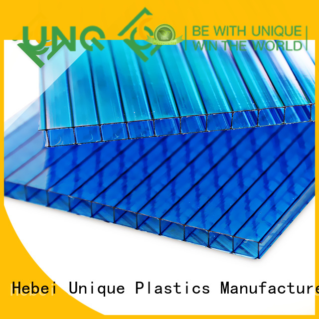 UNQ polycarbonate roofing systems company for building interior decoration