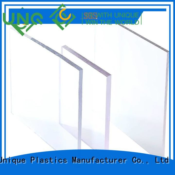 Latest 10mm solid polycarbonate sheet manufacturers for air transparent container