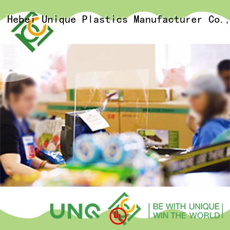 UNQ solid polycarbonate sheet suppliers factory for greenhouse