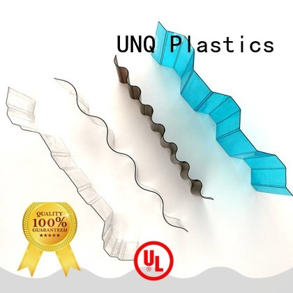 UNQ 5mm acrylic sheet factory for train stations