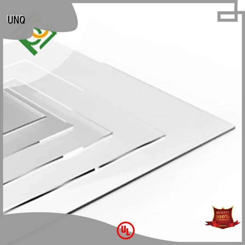 UNQ polycarbonate sheet structure company for greenhouse