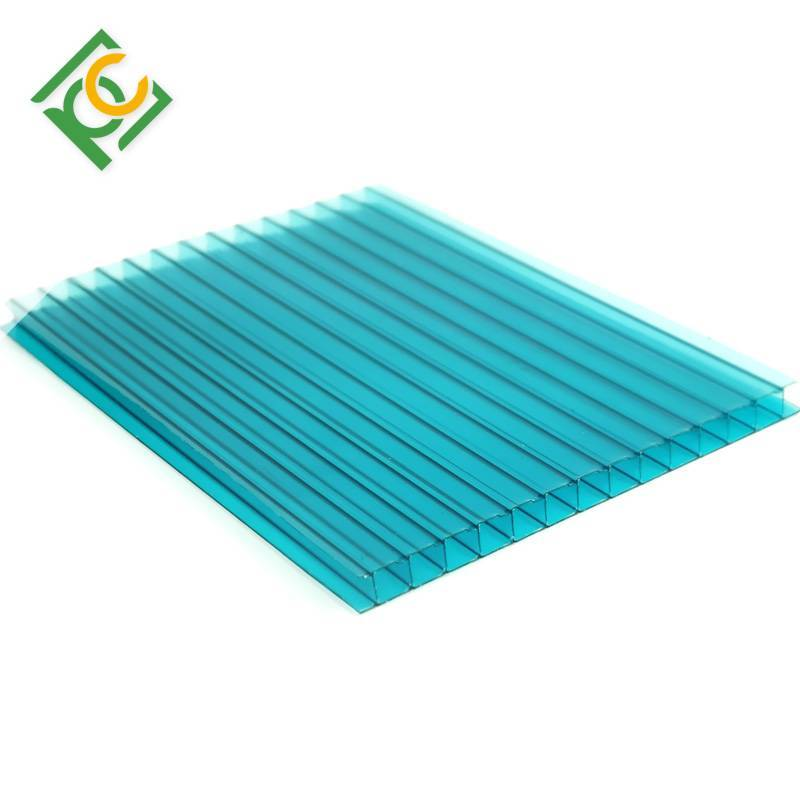 multiwall polycarbonate hollow sheet for greehouse carport and awnings