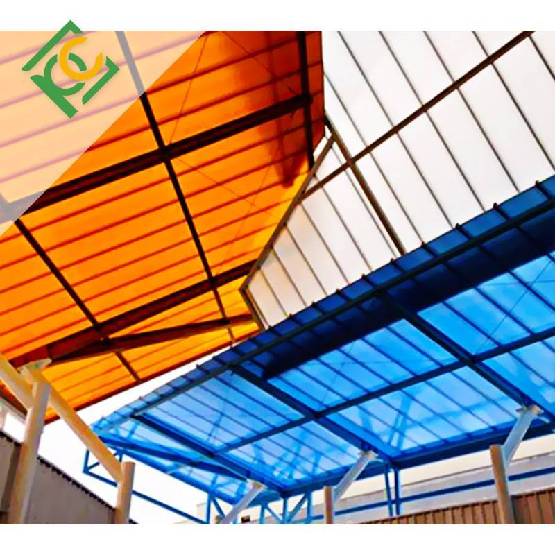 pc multiwall polycarbonate Hollow Polycarbonate Sheet