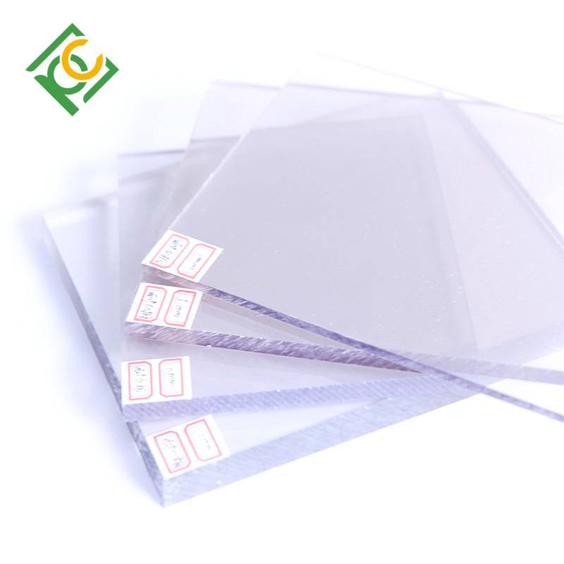UV resistant can be bent polycarbonate solid sheet polycarbonate solid sheet