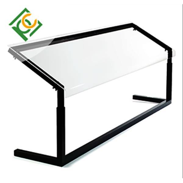 solid polycarbonate sheet sneeze guard Customized size 6mm to 25mm China -UNQ