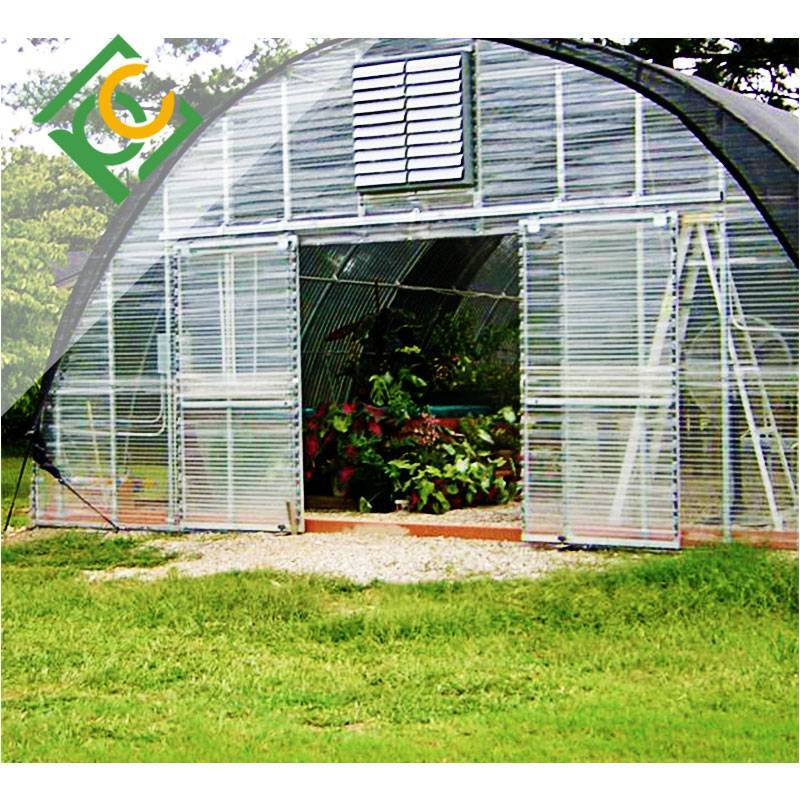 Agricultural vegetable greenhouses Corrugated Polycarbonate Sheet