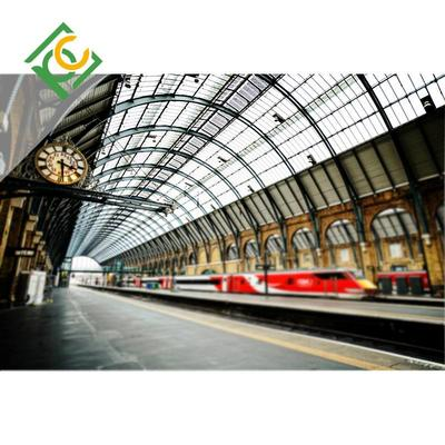 Stations roof Solid polycarbonate sheet