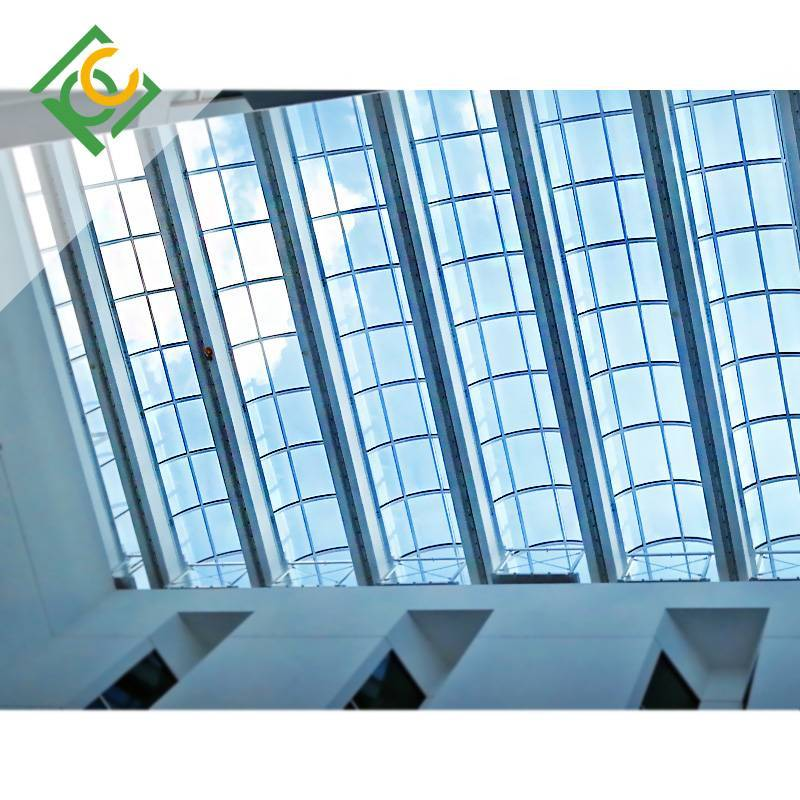 Polycarbonate roofing sheets for station roof coverings