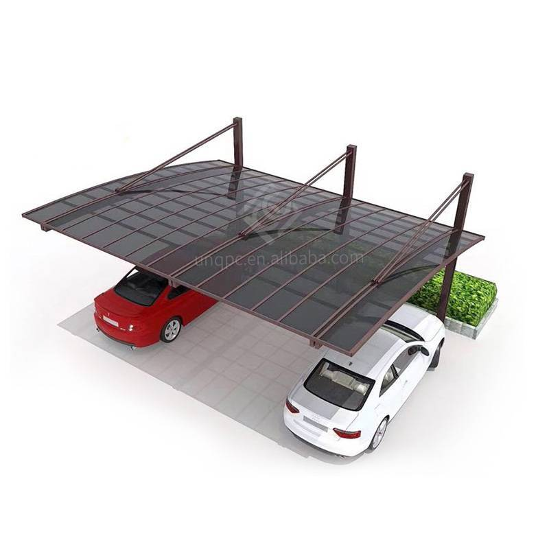 Polycarbonate Canopies & Carports Aluminium/Solid PC Car Shelter