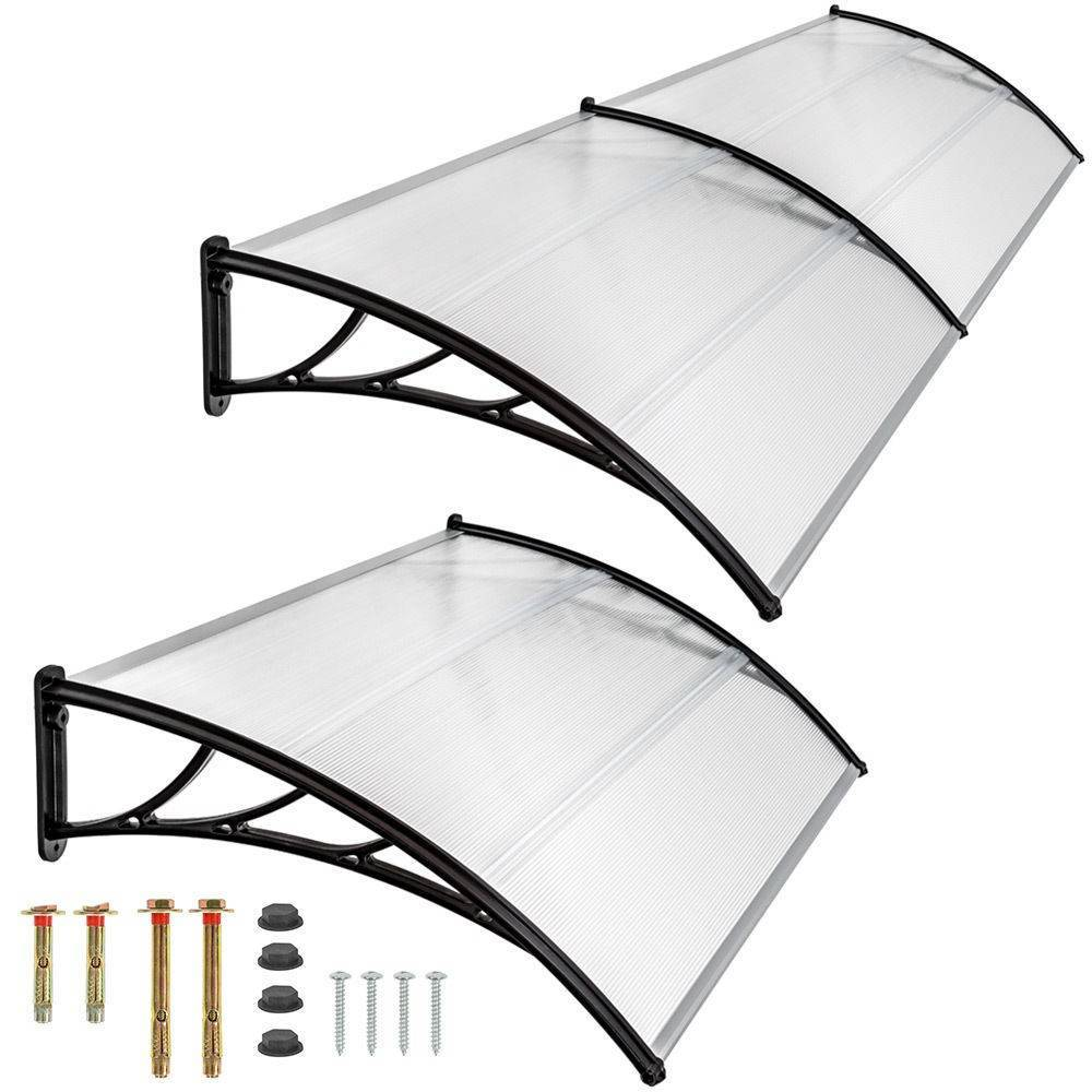 Polycarbonate Window Awnings Clear Solid Polycarbonate Roofing Sheets Canopy Awnings