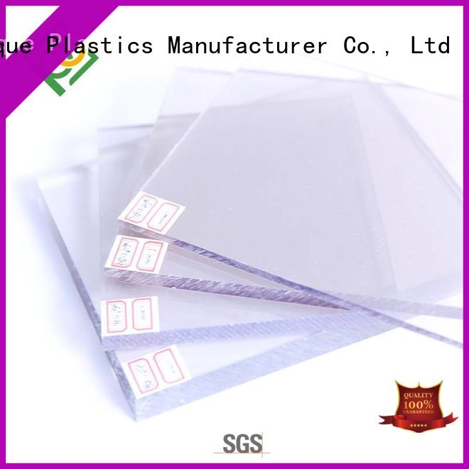 UNQ Custom polycarbonate plastic price Suppliers for LED panel board