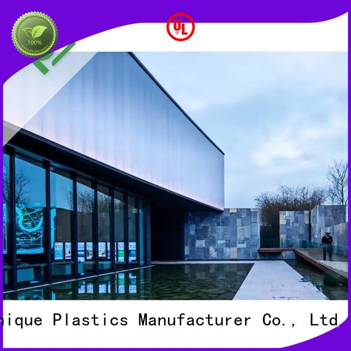 High-quality large plexiglass sheets Suppliers for building interior decoration