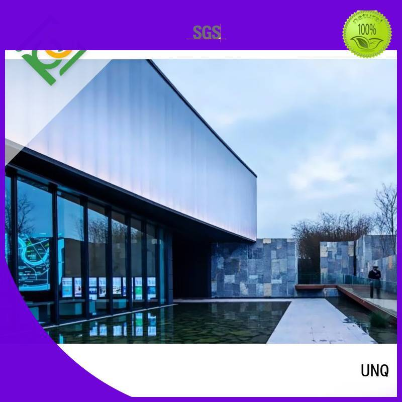 UNQ High-quality cheap acrylic sheets manufacturers for architectural lighting roof