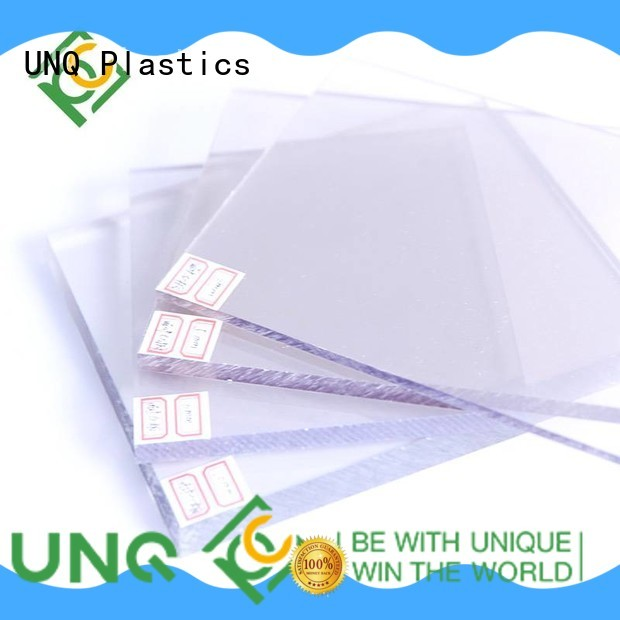 UNQ Latest thermal polycarbonate roofing manufacturers for greenhouse