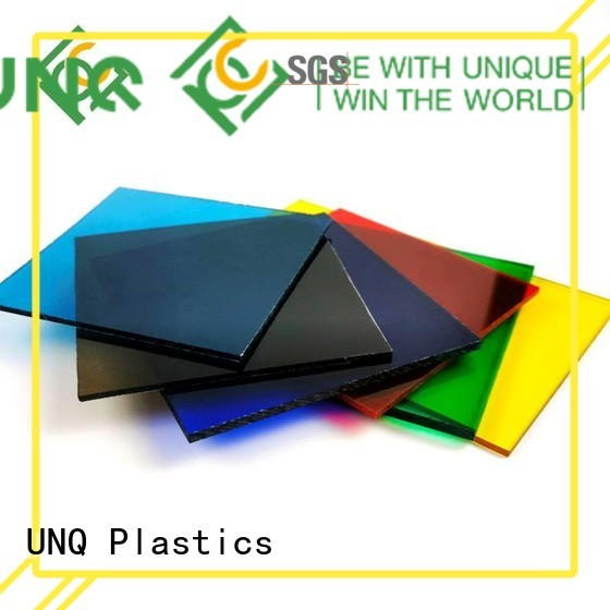 UNQ Custom lexan polycarbonate sheet distributors Suppliers for greenhouse