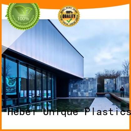 UNQ plaskolite company for architectural lighting roof