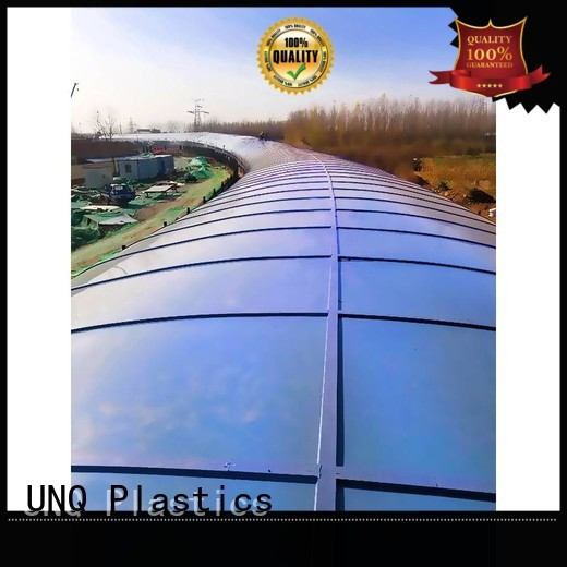 UNQ polycarbonate cost company for greenhouse