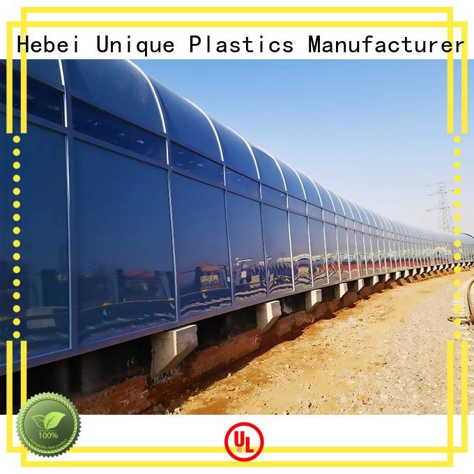 UNQ opaque polycarbonate sheet factory for office buildings