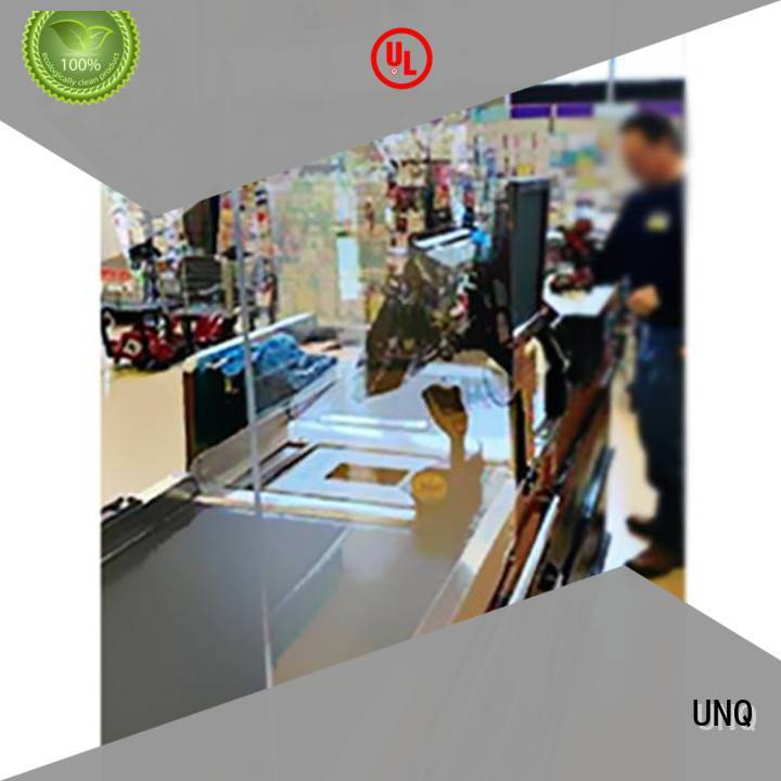 UNQ polycarbonate panels architecture for business for office buildings