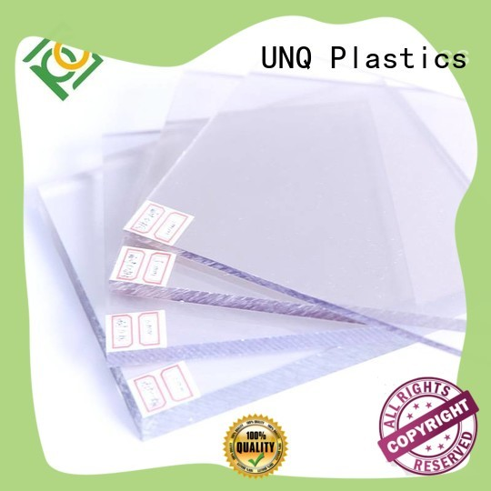 UNQ polycarbonate sheet canopy manufacturers for LED panel board
