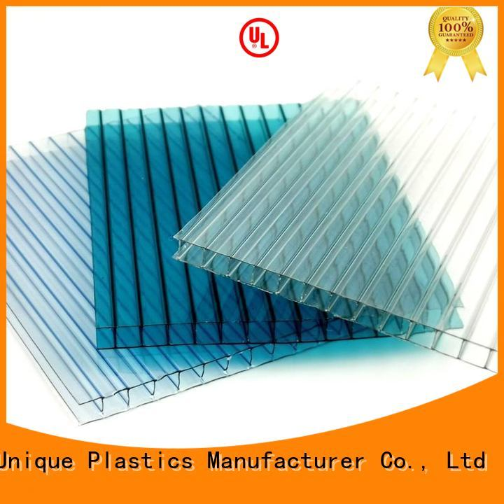 UNQ New perforated plastic sheet company for building interior decoration