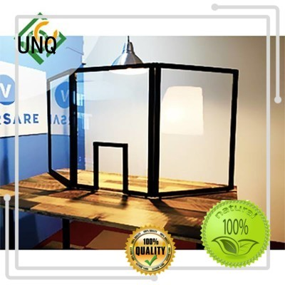 UNQ polycarbonate supplier Supply for air transparent container