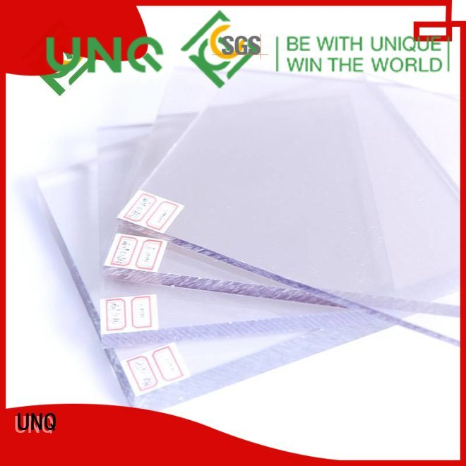 UNQ polypropylene roofing sheets factory for LED panel board