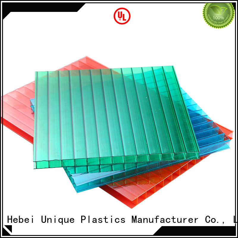 UNQ translucent polycarbonate panels company for architectural lighting roof